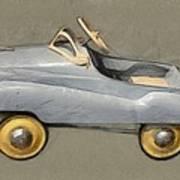 Antique Pedal Car Ll Art Print