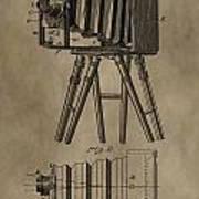 Antique Photographic Camera Patent Art Print