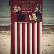 Antique Punch And Judy Art Print