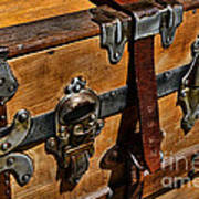 Antique Steamer Truck Detail Art Print