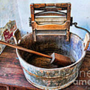 Antique Washing Machine Art Print