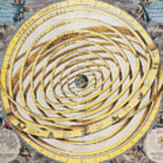 Antique Zodiacal Planetarium Art Print
