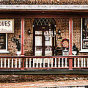 Antiques Bought And Sold Print by Heather Applegate