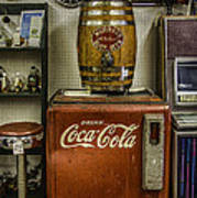 Antiques - Murray's Root Beer And Coca Cola Art Print