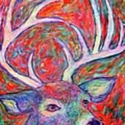 Antler Swirl Art Print