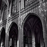 Antwerp Cathedral Art Print