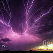 Anvil Crawler Lightning #1 Art Print