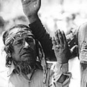 Apache's Signing 100th Anniversary Fort Apache Arizona 1970 Art Print