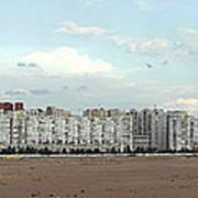 Apartment Blocks At The Waterfront, St Art Print