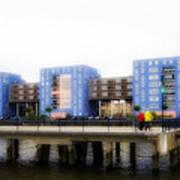 Apartments Rotterdam Art Print