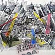 Apocalypse In Paradise 1  Art Print