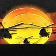 Apocalypse Now Art Print by Mo T