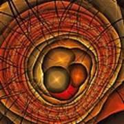 Apocolypse Growth Rings Art Print