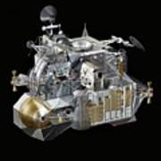 Apollo Lunar Module Ascent Stage Art Print