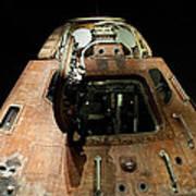 Apollo Space Capsule Art Print