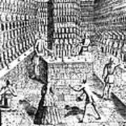 Apothecary Shop, 1688 Art Print