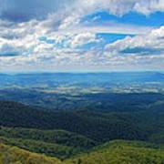 Appalachain Trail View Art Print