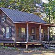Appalachian Cabin Art Print