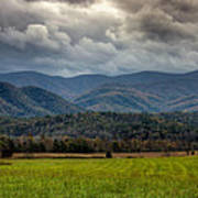 Appalachian Mountain Range Gsmnp Art Print by Paul Herrmann