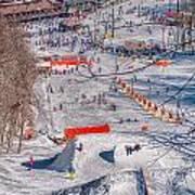 Appalachian Mountain Ski Resort Near Blowing Rock Art Print