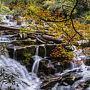 Appalachian Mountain Waterfall Art Print