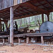 Appalachian Saw Mill Art Print
