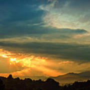 Appalachian Sunset Art Print by William Schmid