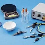 Apparatus For Electrolysis Of Seawater Art Print