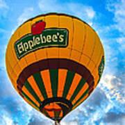 Appelbee's Hot Air Balloon Art Print