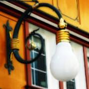 Appenzell's Swiss Lamp Store Art Print