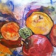 Appetite For Color Print by Sherry Harradence