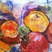 Appetite For Color Art Print