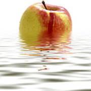 Apple Afloat Art Print
