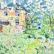 Apple Blossom Farm Print by Elizabeth Jane Lloyd