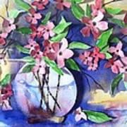 Apple Blossoms Art Print by Sherry Harradence