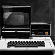 Apple II Personal Computer 1977 Art Print by Bill Cannon