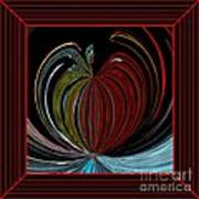 Apple Of My Eye In Frame Art Print