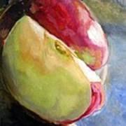 Apple Slices Art Print