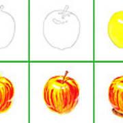 Apple Study Art Print