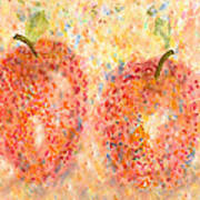 Apple Twins Art Print