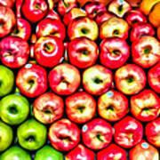 Apples And Oranges Art Print