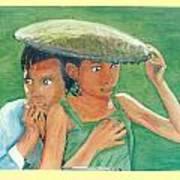 Apprehension In Vietnam Art Print