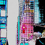 Approaching Times Square Art Print