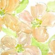 Apricot Quince Art Print