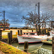April Dawn Poquoson Virginia Art Print