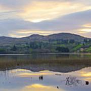 April In Donegal - Lough Eske Art Print