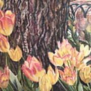 April On Pearl St Art Print
