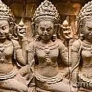 Apsara - Angkor Wat Art Print