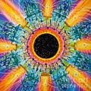 Apus Iris Constellation Art Print