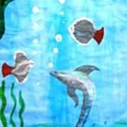 Aqua Life Art Print